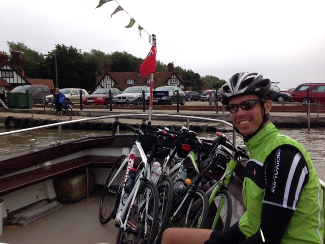 Andy on Bawdsey Ferry - No. 2