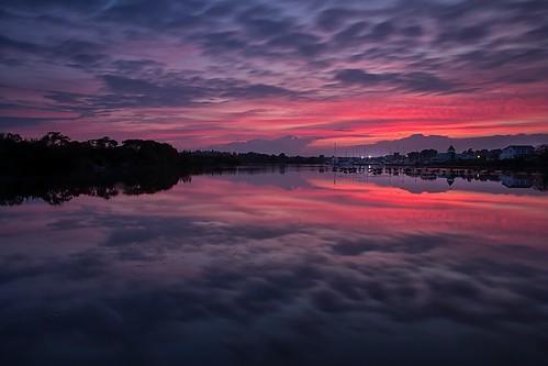 sunset ontario canada canon reflections whitby whitbyontario leefilters timothycorbinphotography