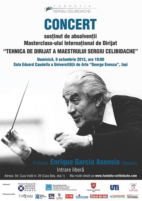 afis concert final masterclass iasi