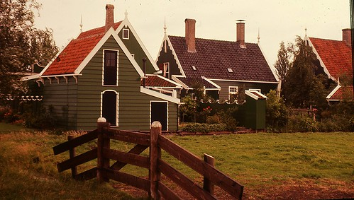 Dutch Landscape - Zaandam - The Netherlands - July 1974
