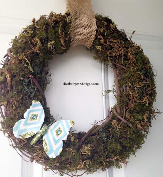 Spring Moss Wreath 2