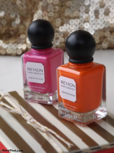 Revlon Parfumerie Scented Polishes Gift Find in African Tea Rose and Orange Blossom