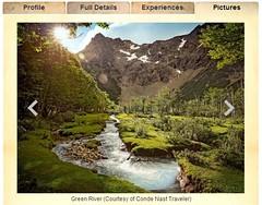 Patagonia美麗的自然風景