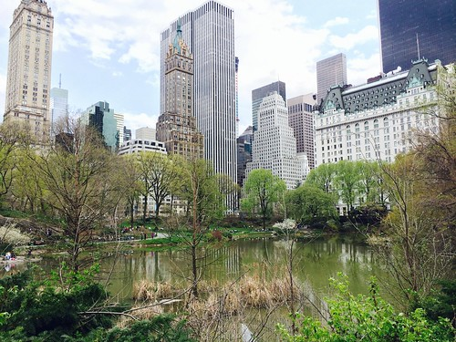 Walking down Central Park - April 26, 2014
