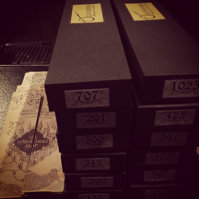 The Harry Potter Party – Wand Boxes   Labels  1d439c27b897