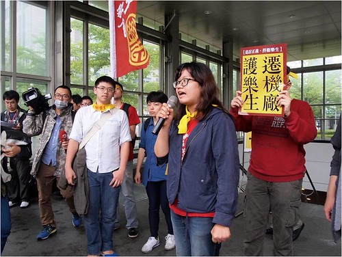 樂青宣布將無限期影響捷運,直至市政府與捷運局出面正視樂生走山危機。攝影:江佩津