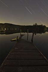 Horn Pond under the stars