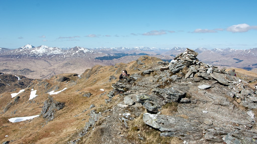 Summit of Beinn Chabhair