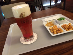 恵比寿麦酒記念館でビアカクテル