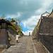 The landscape of Kitsuki-city(the most great castle town of the Edo period),Oita pref,Japan : 大分県杵築市、城下町の名残