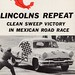 1953 Lincoln in Mexican Road Race (Carrera Panamericana) by aldenjewell