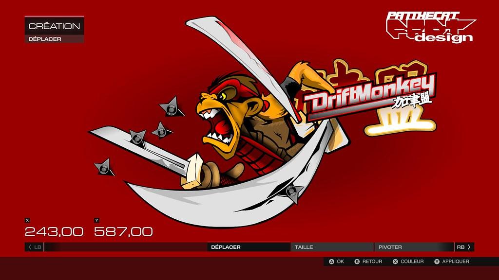 team DriftMonkey logo