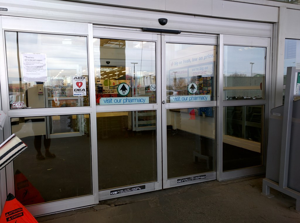 Automatic Doors at Real Canadian Superstore (17303 Stony Plain Road NW) & Automatic Doors at Real Canadian Superstore (17303 Stony Plain Road ...