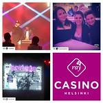 Lavalla tänään mm. @kasmirvirallinen Ja @saaraaalto! Melkoiset viisuvalvojaiset kasinolla, kiitos @inhimillisiauutisia ja @bassomedia Ja kohta mennään livenä! #euroviisut #raytukee #munrahis #casinohelsinki #pkn #ainamunpitää #kasmir #saaraaalto