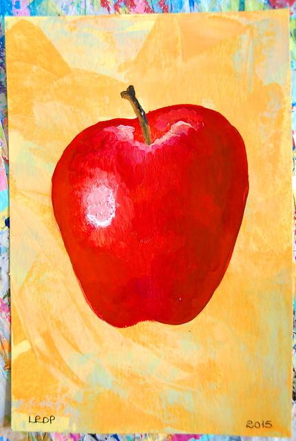 Week 21 - Apple - Still Life
