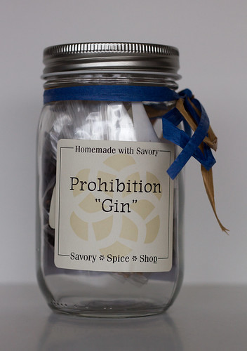Savory Spices Prohibition Gin