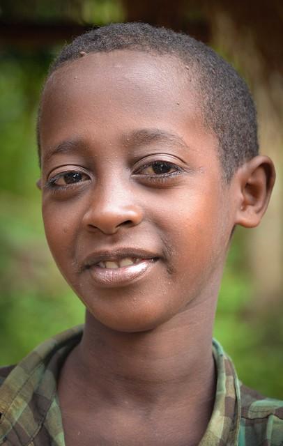Wolayta Boy, Ethiopia