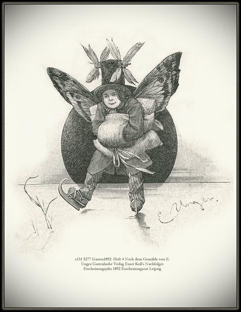 s131 5277 Garten1892  Heft 4 Nach dem Gemälde von E. Unger Gartenlaube Verlag Ernst Keil's Nachfolger Erscheinungsjahr 1892 Erscheinungsort Leipzig
