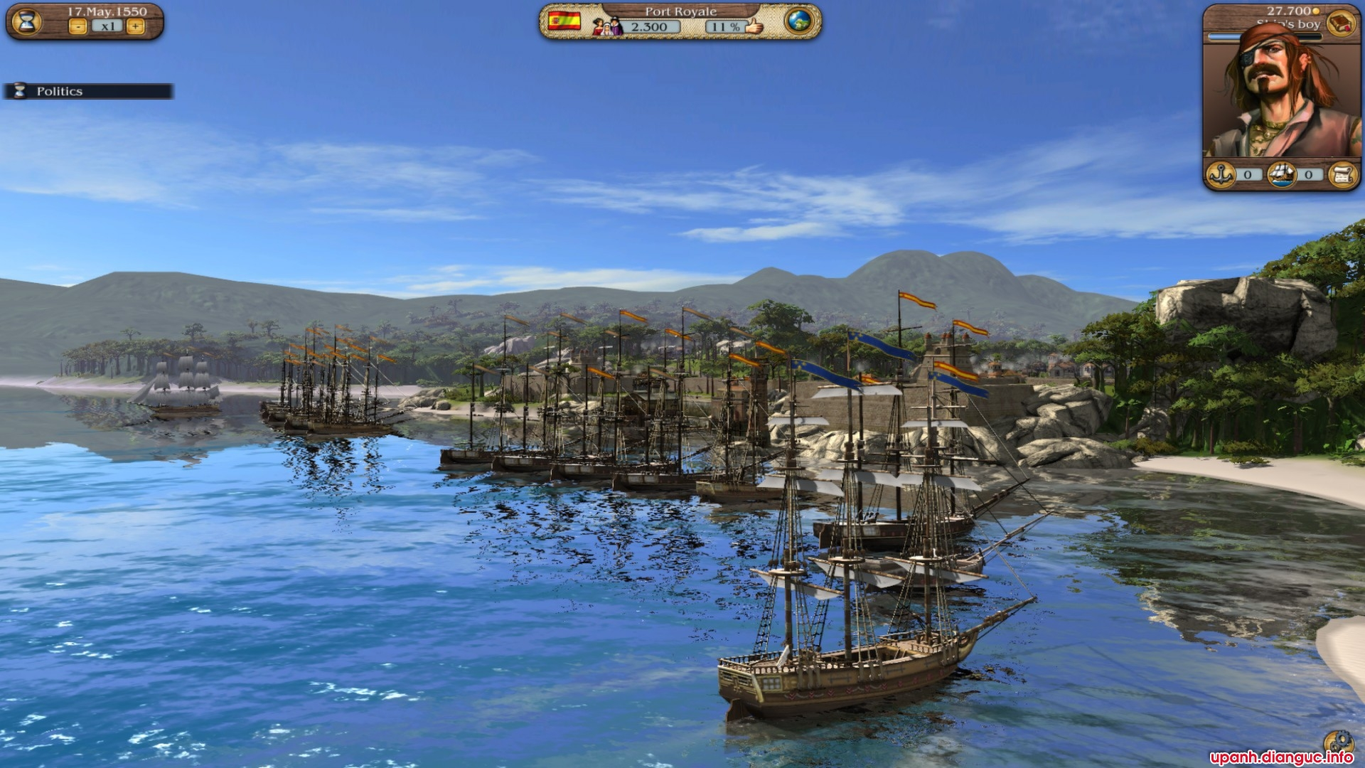 Game Port Royale 3 full download