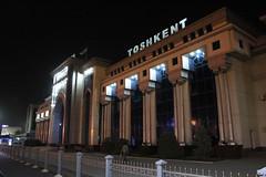 Toshkent train station