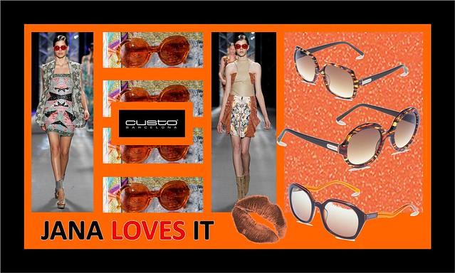 Naranja - Custo Gafas