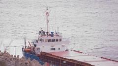 mv carrier grounded quarry boat
