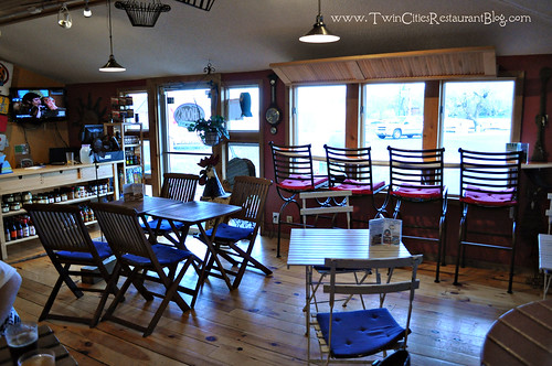 Inside CG Hooks Eatery ~ White Bear Lake, MN