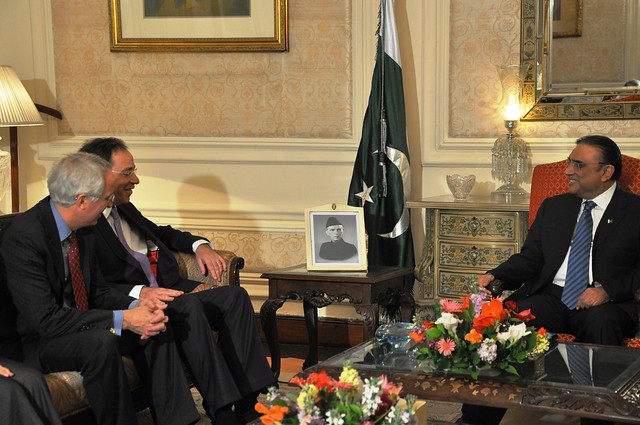 ... nides met with pakistani president asif ali zardari in lahore april