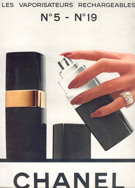 1980 - chanel - N° 5 and N° 19 perfumes