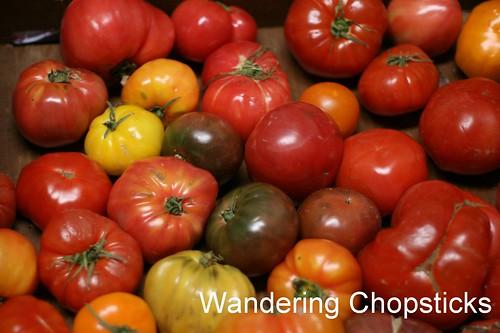 Tomato Asparagus Feta Phyllo Tart 3