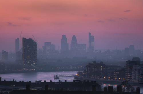 Hazy London