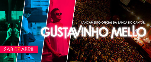 Banner - Gustavinho Mello by chambe.com.br