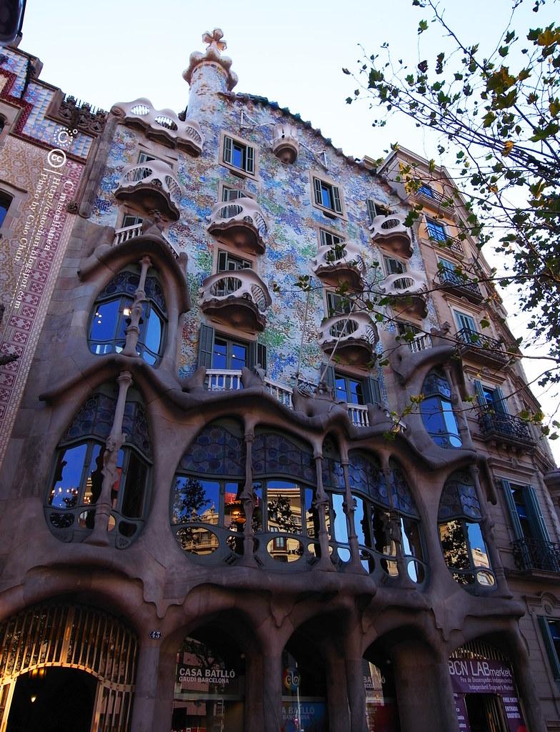 Hola Barcelona~巴塞隆納。桂爾公園 郊遊去(下) + 巴特樓之家 + 米拉公寓R1043097