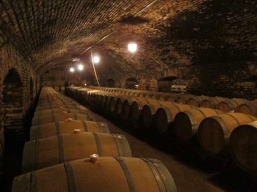 barrels in Casillero del Diablo
