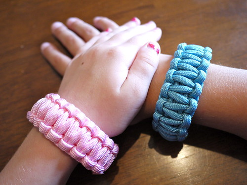 Maggie and Jack's Paracord Bracelets
