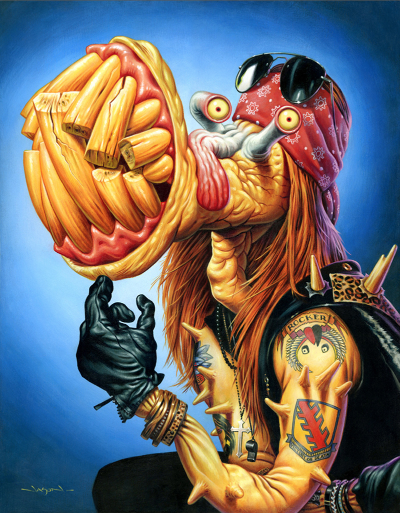 Jason Edmiston - (Monsters Of Rock) Axl