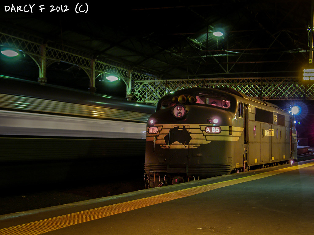 A85, Geelong Station (Night) by Darcy Fulmer
