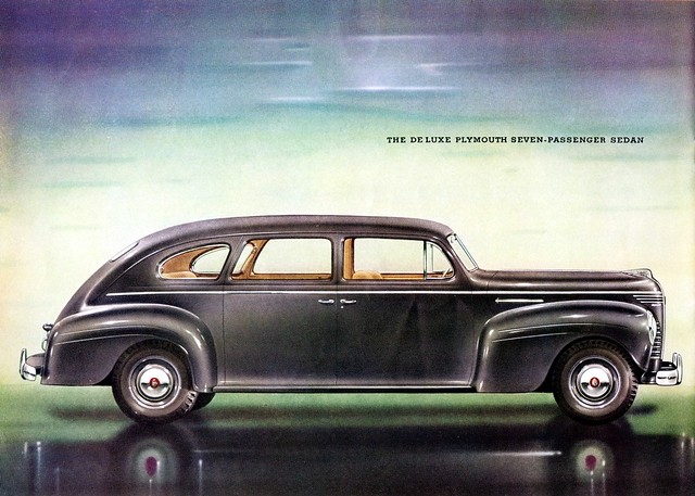1940 plymouth de luxe seven passenger sedan flickr for 1940 plymouth 2 door sedan