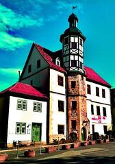"The so called ""Residenzhaus"" in #Eisenach."