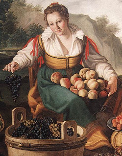 Vicenzo Campi: The Fruit Seller, 1580 Pinacoteca di Brera, Milan