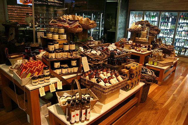 Fine foods at Quarter Twenty One, Sydney