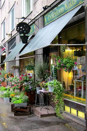 Kukkakauppa by Anna Amnell