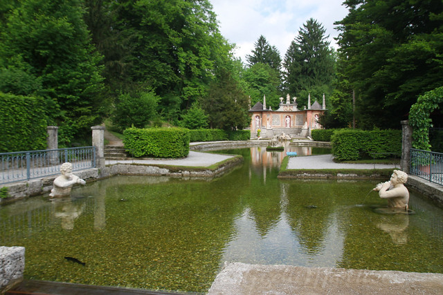 Salzburg Revisited, Watergames at the Hellbrunn Palace
