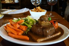 Tournedos Rossini at The Butcher's Arms, Prio…