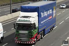 Scania R440 6x2 Tractor - PN12 WDZ - Dawn Elizabeth - Eddie Stobart - M1 J10 Luton - Steven Gray - IMG_9492