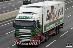 Scania R440 6x2 Tractor - PE11 RGY - Catherine Florence - Eddie Stobart - M1 J10 Luton - Steven Gray - IMG_8135