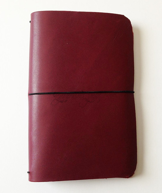 Leather Notebook Cover from Peggy
