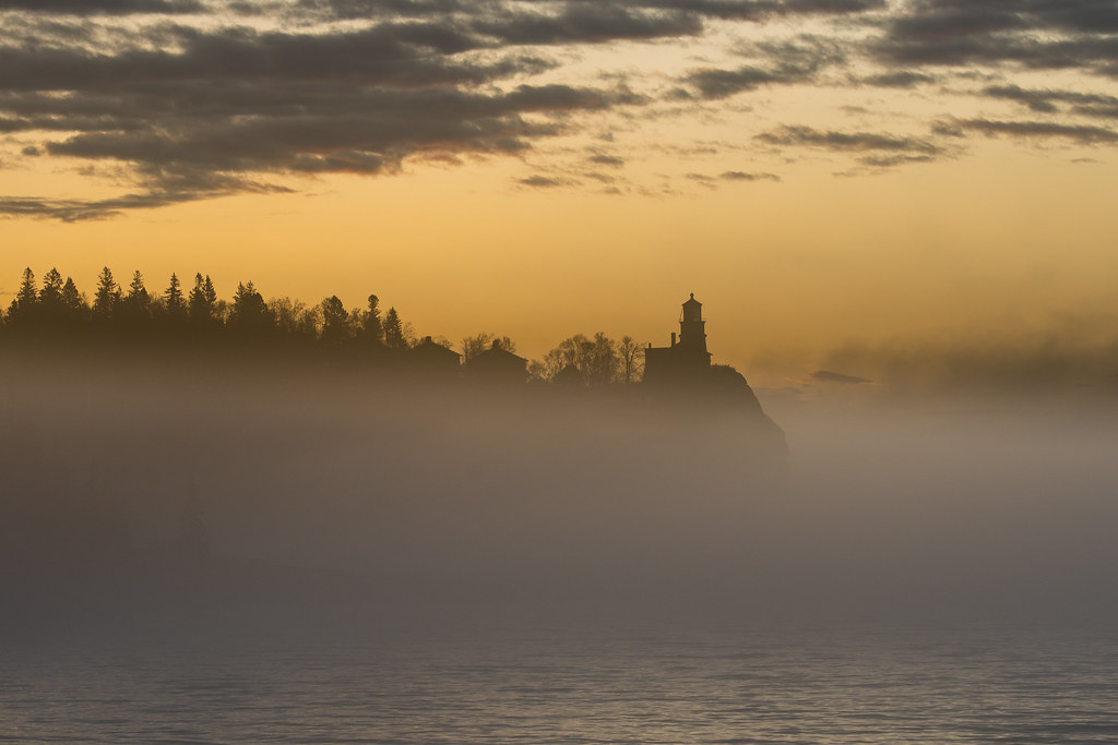 Split Rock Lighthouse in the Fog