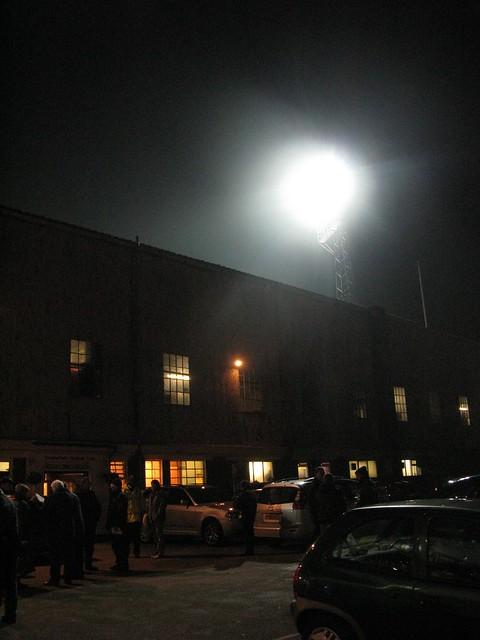 The Saltergate Stadium