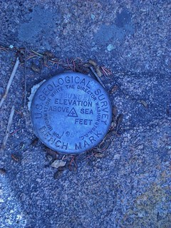 Thunder Butte Geographic Marker